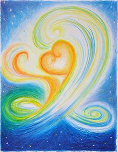 琳子(リンコ)さん「命は宇宙の空(くう)から 空の心から」